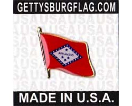 Arkansas State Flag Lapel Pin