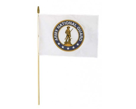 Army National Guard Stick Flag