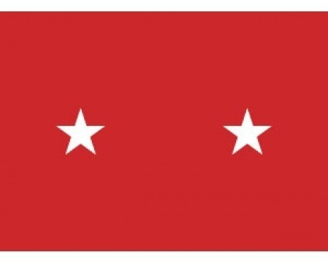 Army Major General (2 Star ) - Army Officer Outdoor Flags