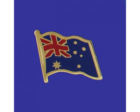 Australia Lapel Pin (Single Waving Flag)
