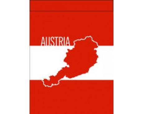 Austria Garden Flag