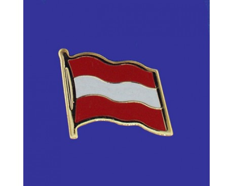 Austria  Lapel Pin (Single Waving Flag)