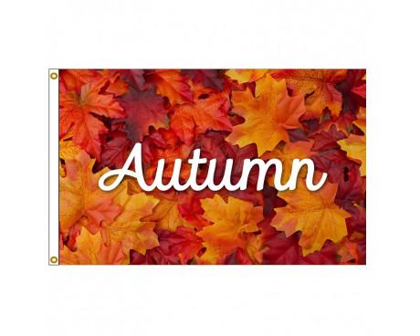 3x5' Autumn Leaves Flag
