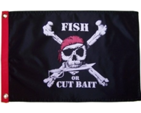 Fish Or Cut Bait Flag
