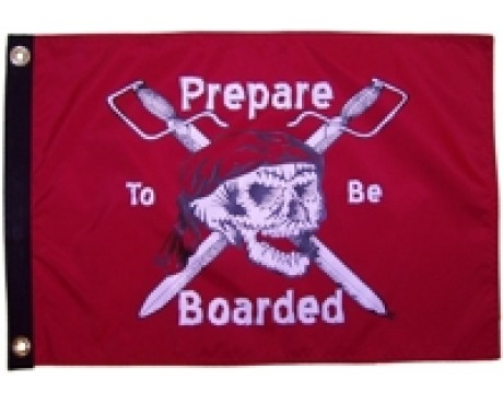 Prepare to Be Boarded Flag