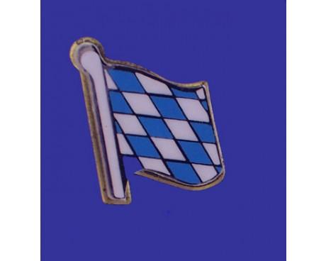 Bavaria (lozenge style) Lapel Pin (Single Waving Flag)
