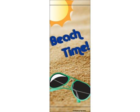 Beach Time - Sunglasses Avenue Banner