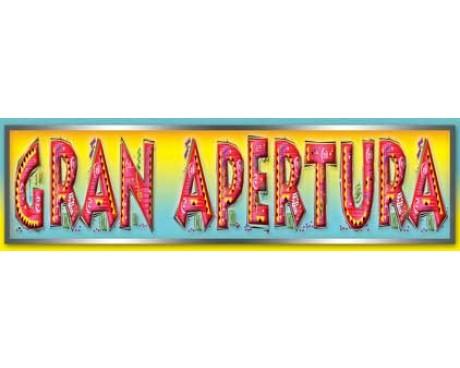 Gran Apertura (Grand Opening) Banner