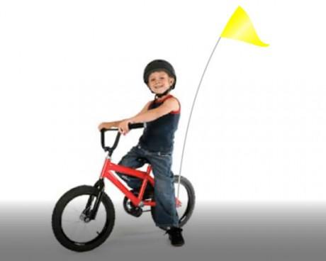 Bike Flag Set Yellow