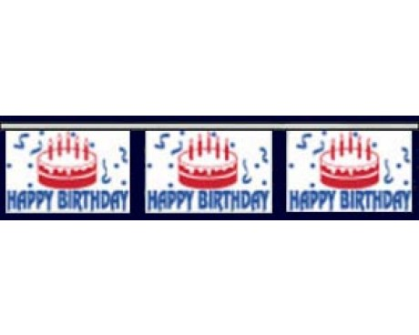 Happy Birthday Pennants