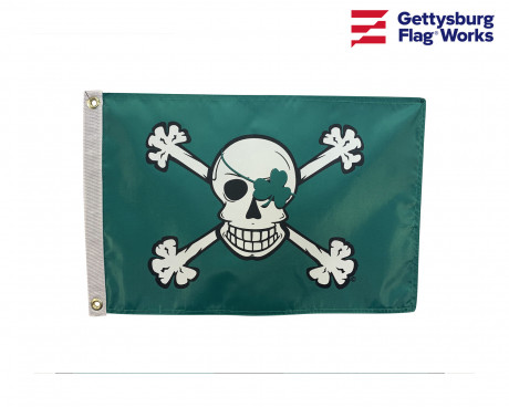 Blarney Bones Irish Pirate Boat Flag