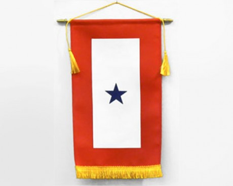 Service Star Banner (1 Blue Star)