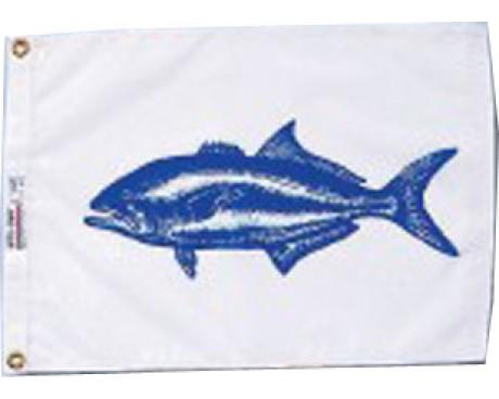 "Bluefish Flag - 12x18"""