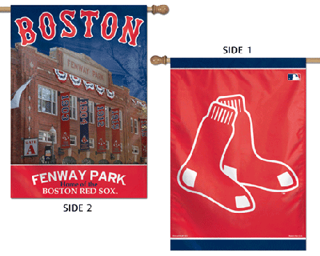 Boston Red Sox 2-Sided Banner