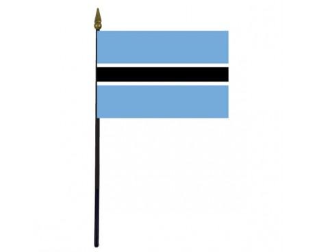 "Botswana Stick Flag - 4x6"""
