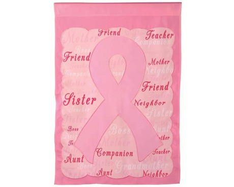 Breast Cancer Awareness House Banner
