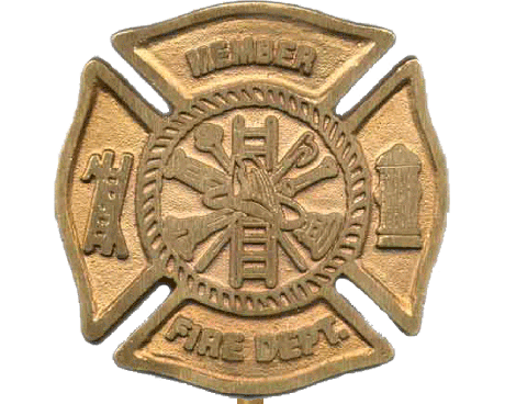 Fireman Grave Marker