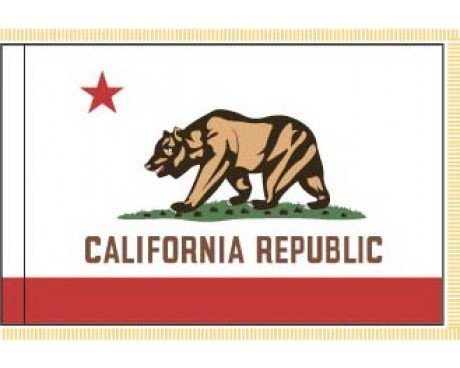 California Flag - Indoor
