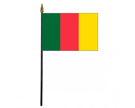 Carlow County Stick Flag (Ireland) - 4x6""