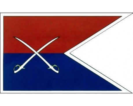 Cavalry Guidon Flag (1862) - 3x5'