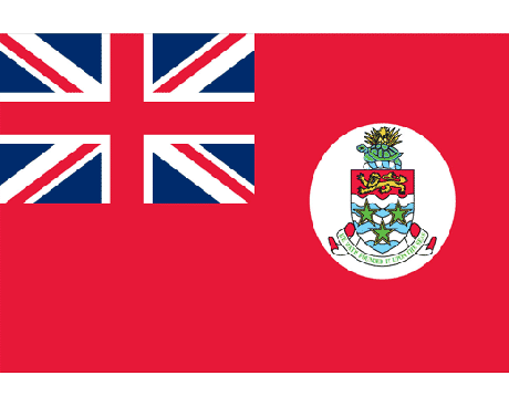 Cayman Islands Red Flag - 12x18""
