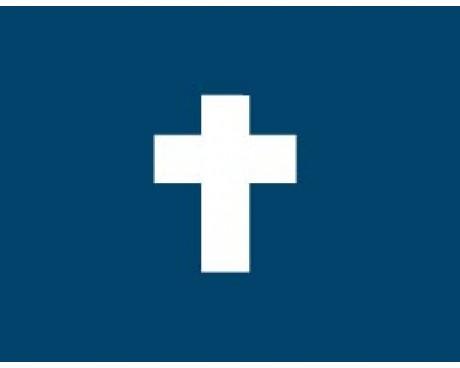 """Chaplain Flag - 12x18"""""""