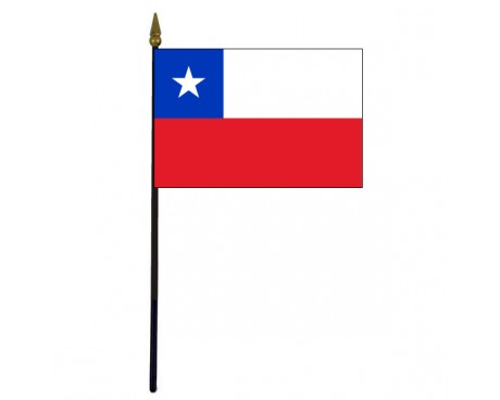 Chile Stick Flag - 4x6""