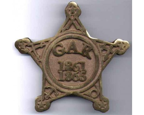 Civil War (GAR) Grave Marker