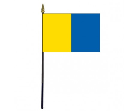 Clare County Stick Flag (Ireland) - 4x6""