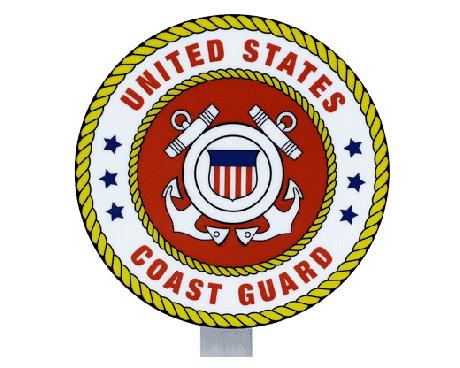 Coast Guard Seal Grave Marker