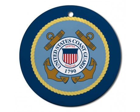 Christmas Ornament Coast Guard