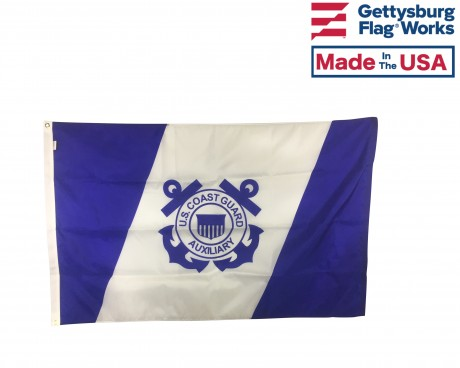 Coast Guard Auxiliary Outdoor Flag