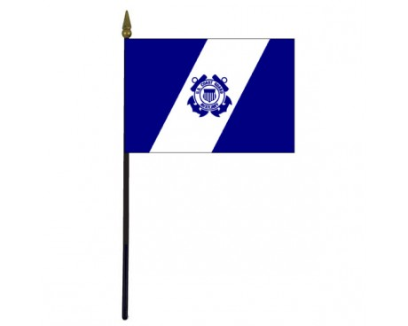 Coast Guard Auxiliary Stick Flag