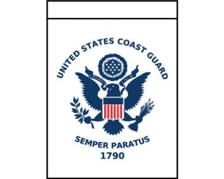 Coast Guard Garden Flag
