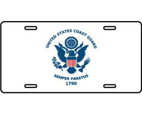 US Coast Guard License Plate