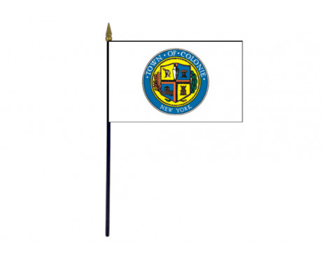 Town of Colonie, NY Stick Flags