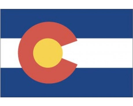 Colorado Reflective Sticker