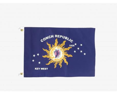 Conch Republic Boat Flag