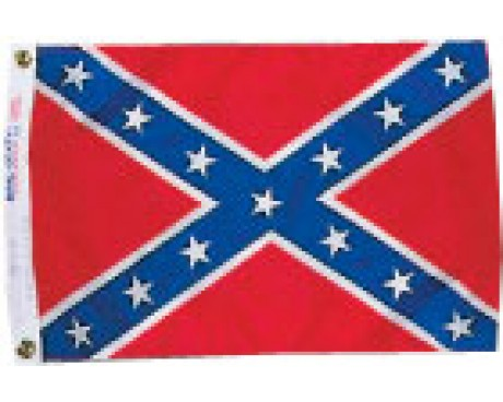 Confederate Battle Flag - 12x18""