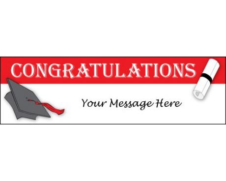 Congratulations Graduate Banner