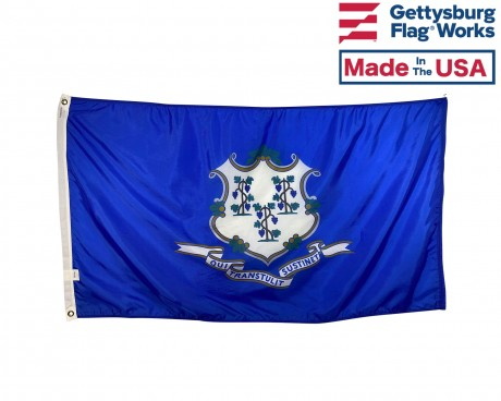 Connecticut Flag - Outdoor