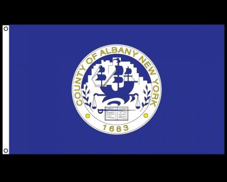 County Of Albany Flag (New York, USA)
