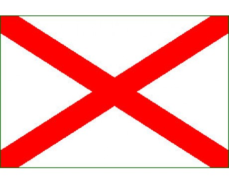 Cross of St. Patrick 1776 Flag - 3x5'