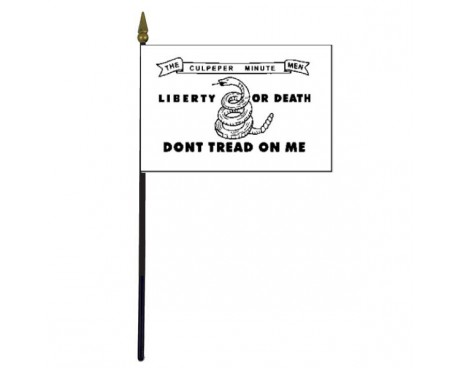 Culpeper Stick Flag - 4x6""