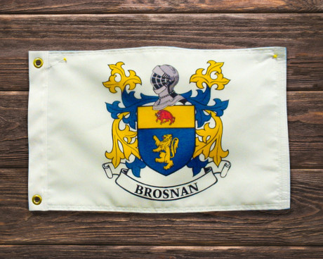 The Heirloom Line™ Family Crest Banner Portfolio