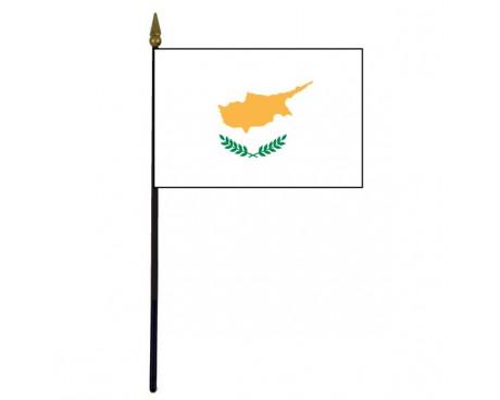 "Cyprus Stick Flag - 4x6"""