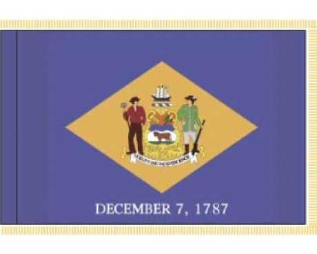 Delaware Flag - Indoor