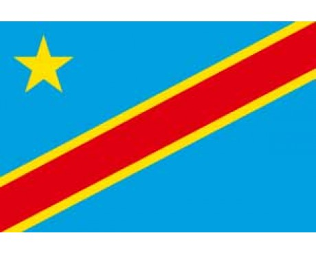 Congo Democratic Republic Flag