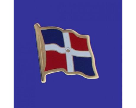 Beautiful Dominican Republic (Seal Design) Lapel Pin