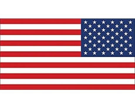 American Flag Sticker (Reverse)